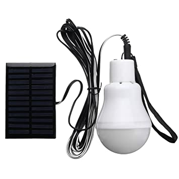 Portable Solar Power LED Bulb Lamp Outdoor Lighting Camp Fishing Digital Product