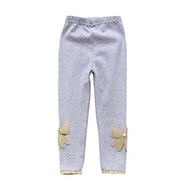 Durable Cotton Girls Spring/Autumn Stockings Socks Kids Pantyhose Grey