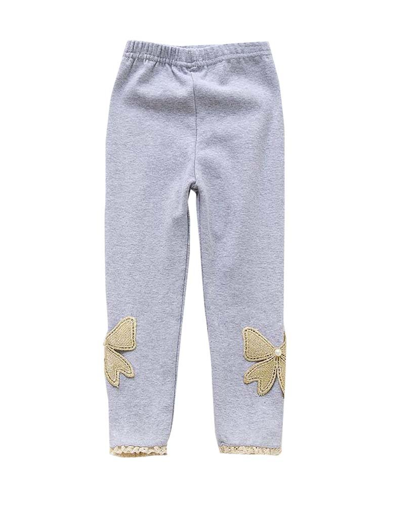 DRAGON SONIC Durable Cotton Girls Spring/Autumn Stockings Socks Kids Pantyhose Grey by DRAGON SONIC