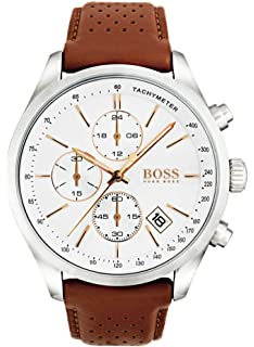 Hugo Boss Grand Prix Chronograph 1513475 Brown Mens Quartz Watch