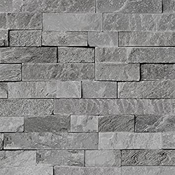 4 Pack Of Dumapan Smp Valladolid Light Grey Brick Effect Wall Panel 3d Effect Pvc Bathroom Kitchen Wall Panels Amazon Co Uk Diy Tools