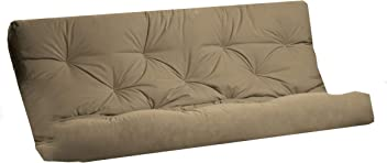 Royal Sleep Products Futon Mattress Solid Cover 8 Layer Factory Direct Made in The USA (