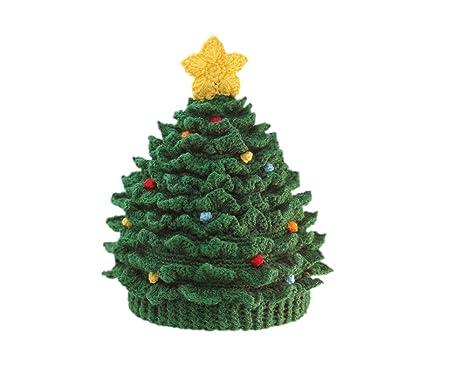 san diego hat company baby boys chenille christmas tree hat green 6