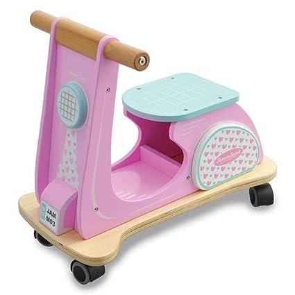 Amazon.com: índigo Jamm aij074 Scoot, color rosa Racer Ride ...