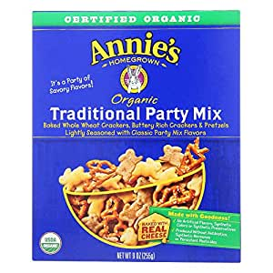 Annie's Homegrown Organic Traditional Snack Mix Bunnies 255 g (Pack of 12)