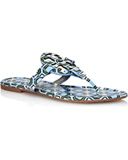 6a57e1370ddf Tory Burch Women s Miller Patent Leather Thong Sandals