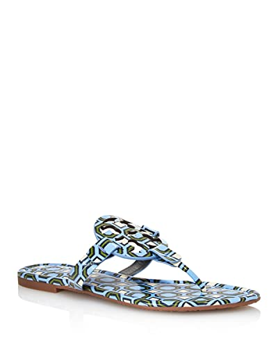 42f4398ac4569 Tory Burch Women s Miller Patent Leather Thong Sandals (7 M ...