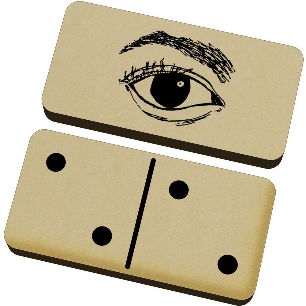 2027-1 English Mahjong Set Traveling Portable with Retro Leather Box New Product