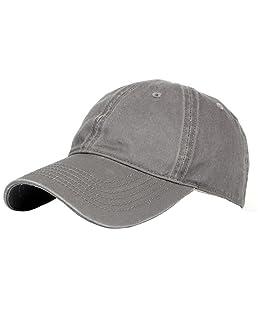 Wicemoon - Gorra de béisbol - para Hombre Gris