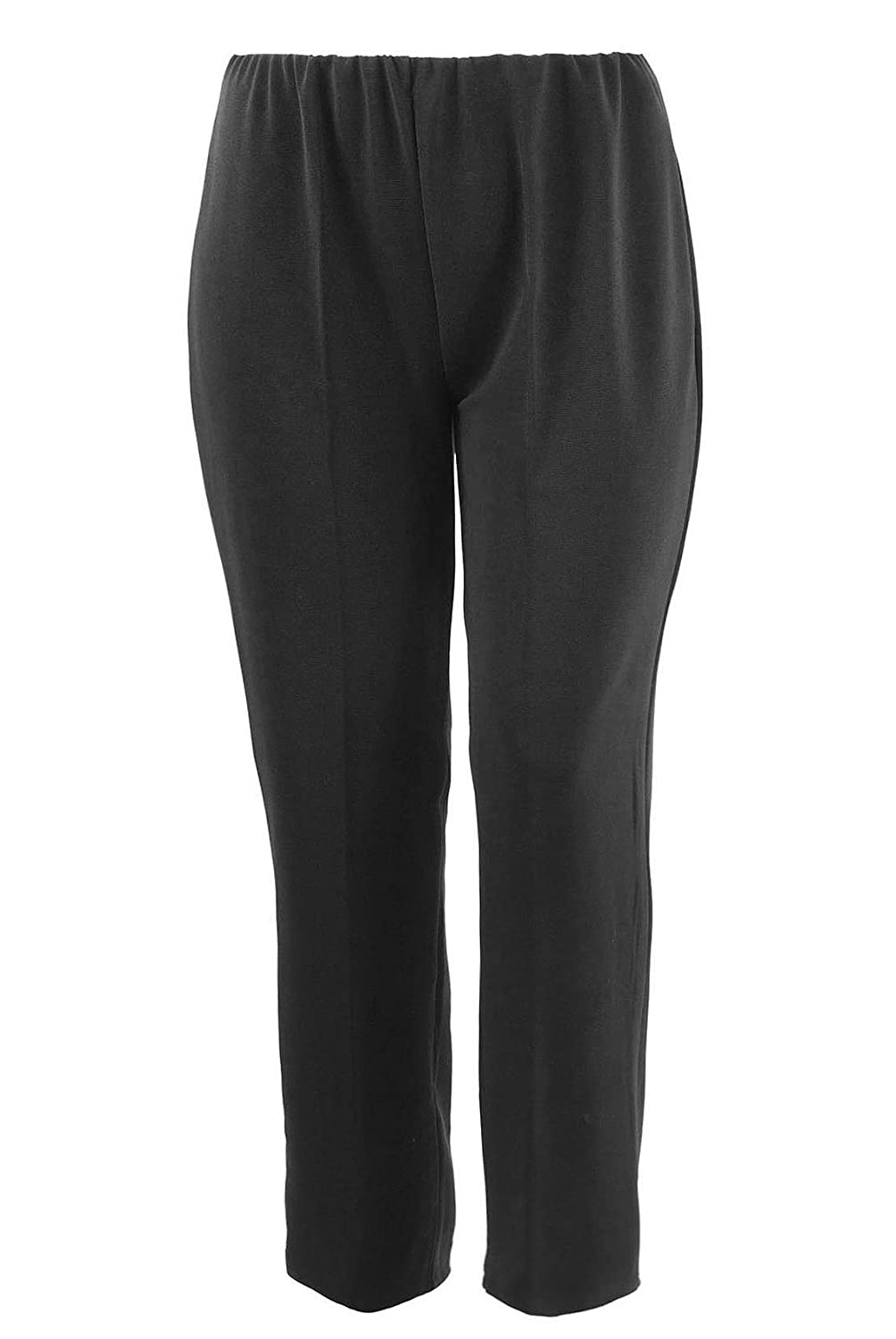 e0db8ffa7c284 Yours Clothing Women s Plus Size Pull On Ribbed Bootcut Trousers   Amazon.co.uk  Clothing