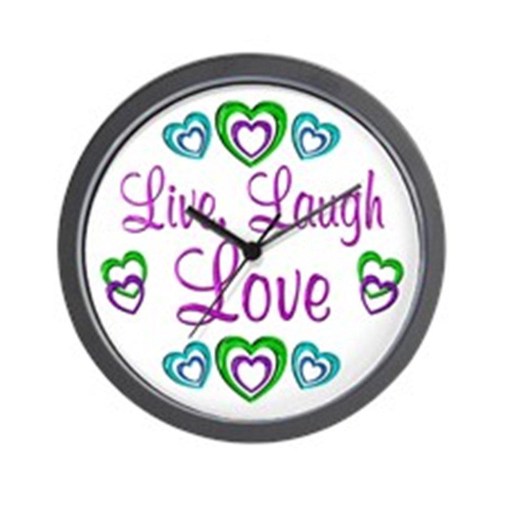 Live Laugh Love Wall Clock - Unique Decorative Wall Clock