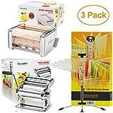 Innovee Home 3 Pack Including - Ravioli Maker + Pasta Maker + Pasta Drying Rack