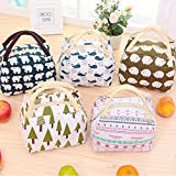 Clearance Sales!! Sttech1 Insulated Lunch Bag Box for Kids, Capacity Bento Bag for School/Picnic, Print Patterns