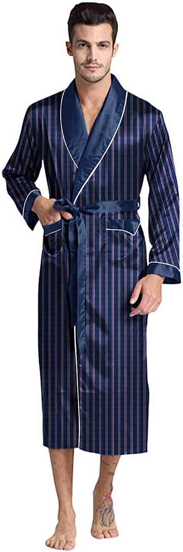 1930s Men's Clothing Regency New York Mens Silky Satin Robe  AT vintagedancer.com