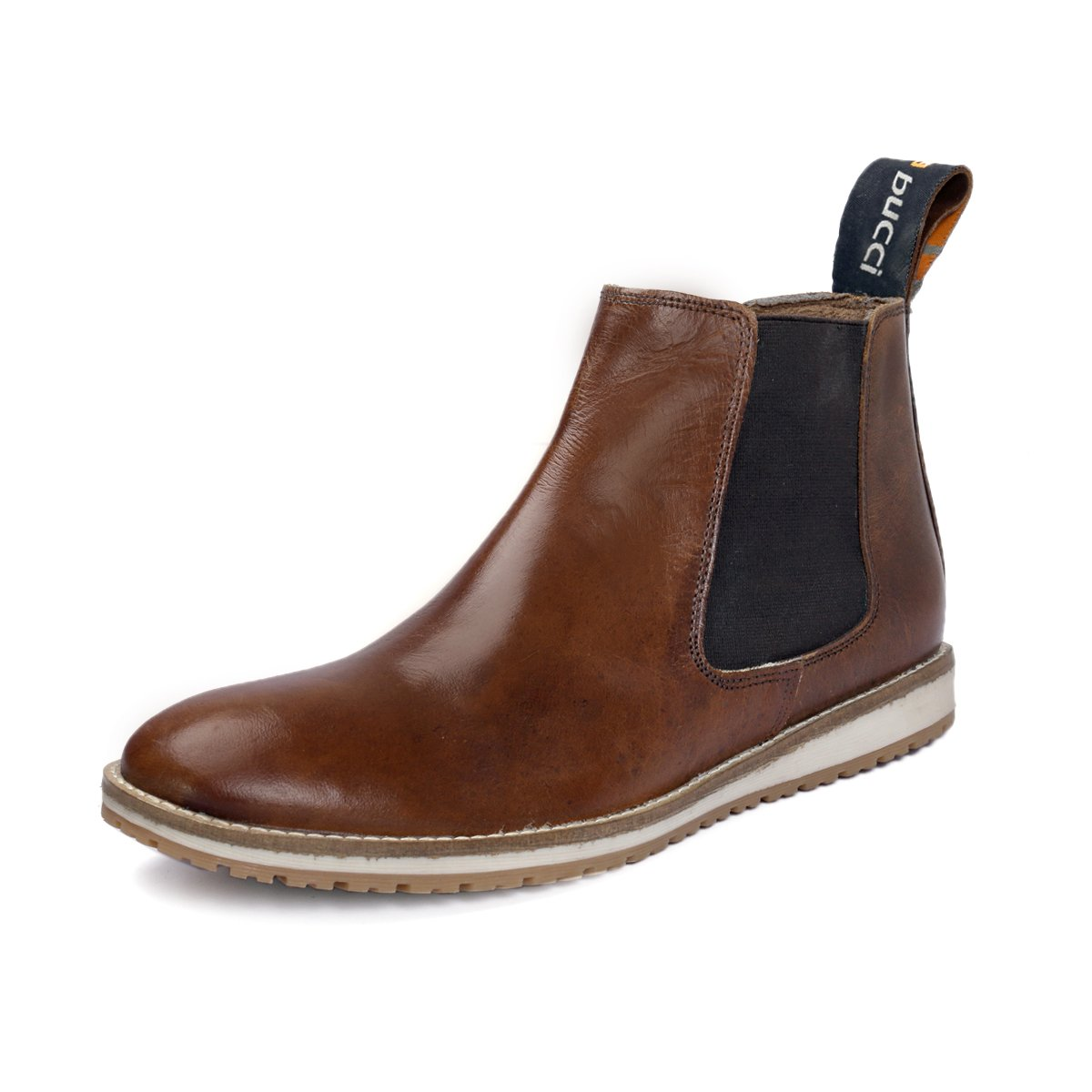 Bacca Bucci Leather Handmade Chelsea Boots