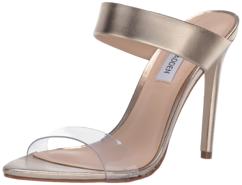 Metallic Steve Madden Womens Amaya Heeled Sandal