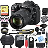 Nikon D7500 20.9MP DX-Format 4K Ultra HD Digital SLR Camera (Body Only) with 64GB Deluxe Bundle - (Certified Refurbished) (Nikon D7500 Camera with 18-140mm Deluxe Bundle)