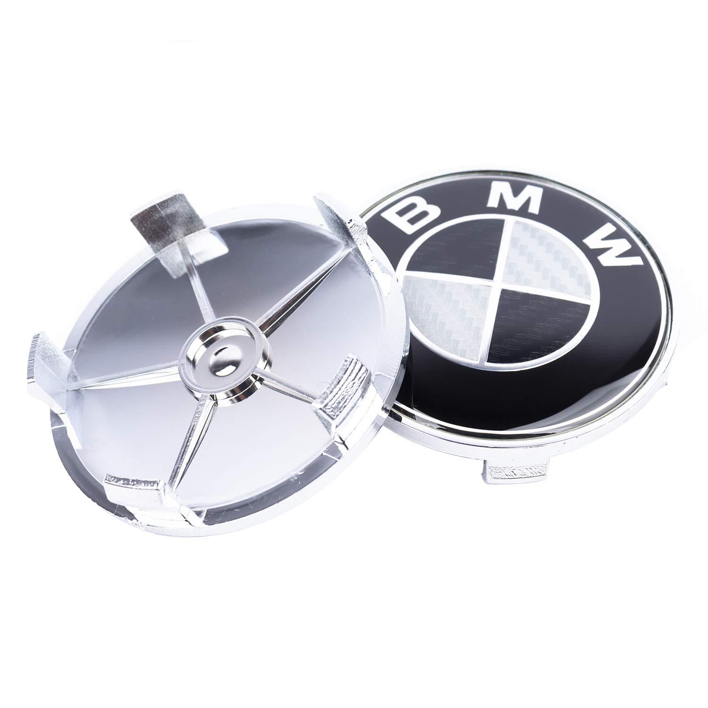 SFONIA 4pz 68MM Coprimozzo Coprimozzi Auto Tappi Centrali per Ruote per E82 E30 E36 E46 E90 1 3 5 6 7 X Z Series
