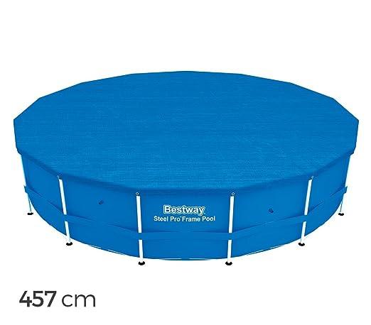 58038 Cubierta para piscina 457 cm Bestway en el PE: Amazon ...