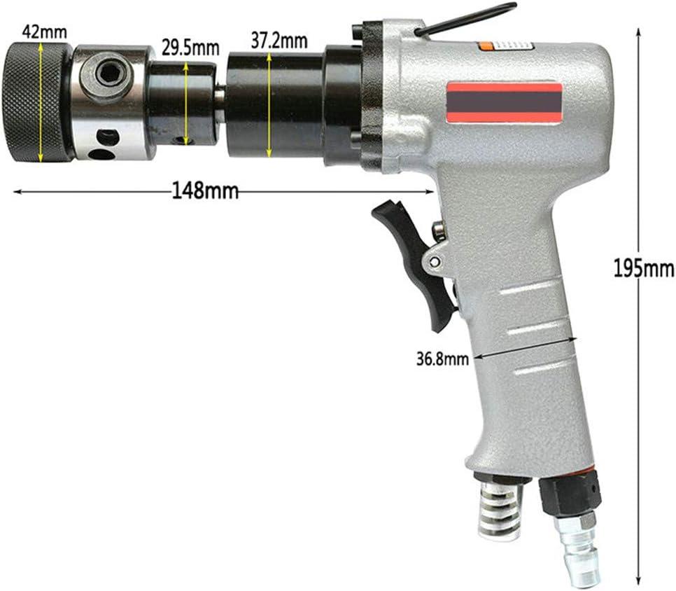 Pistola neum/ática de roscado con mango neum/ático para uso con portabrocas de tama/ño M3 M8 MXBAOHENG M3-M12 M4 M6 M5 M10 M12