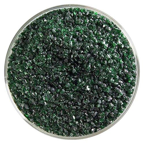 Bullseye Aventurine Green - Light Aventurine Green Transparent Medium Frit - 4oz - 90COE - Made from Bullseye Glass