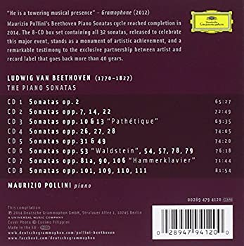 Beethoven: Complete Piano Sonatas [8 Cd] 1
