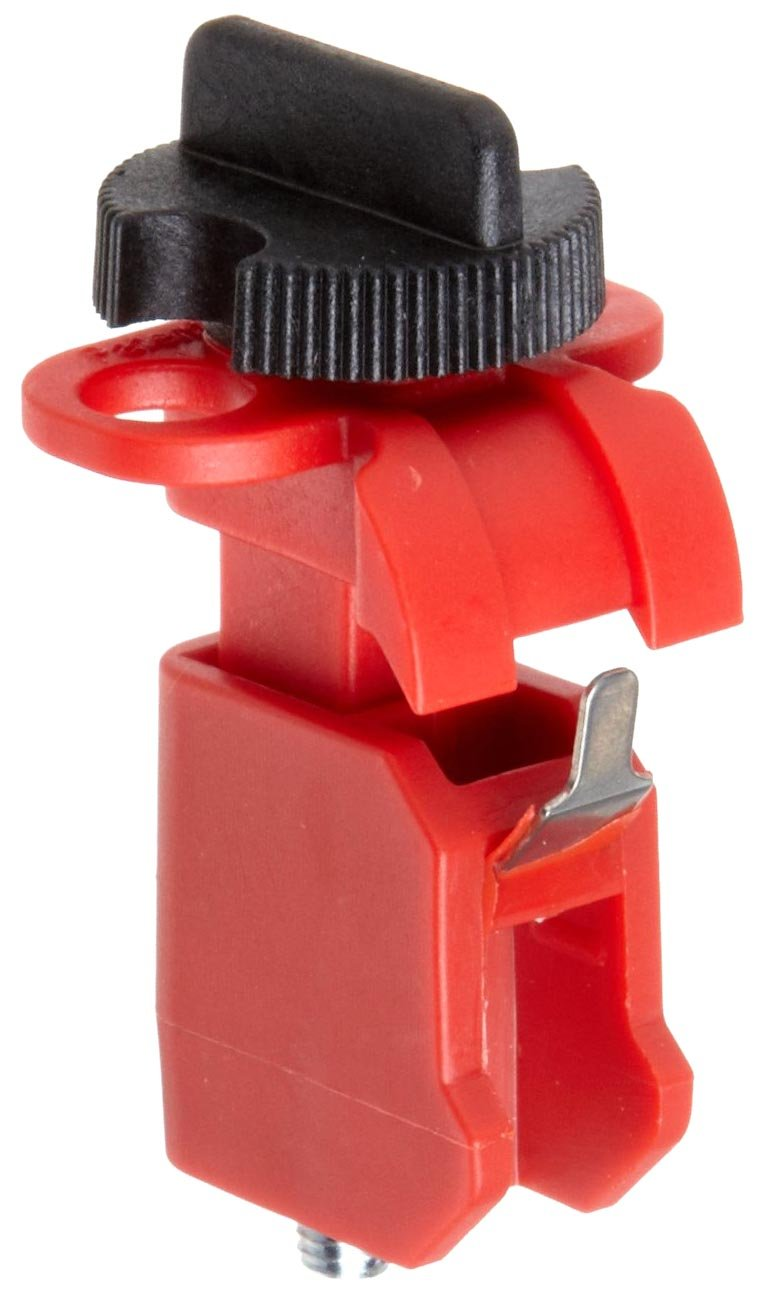 Brady Miniature Circuit Breaker Lockout Pack of 6 Tie Bar