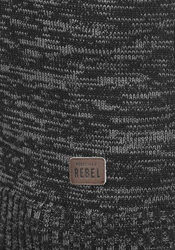 Redefined Hombrecon Para Sudadera Black De Jersey Suéter 100 Punto Capucha Maurice Rebel Algodón fOxqr6w8f