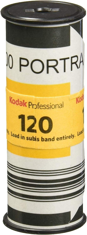 120mm 3-Pack 1 Roll Color Negative Film Kodak Portra 400 Professional ISO 400