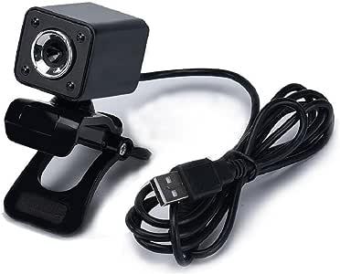 Tongshi USB 2.0 1080P 8.0MP 4 cámara webcam HD LED con el