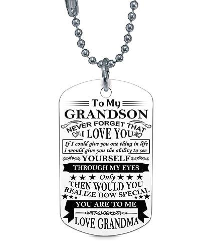 Amazon.com: Stashix To My Grandson Realize How Special You ...