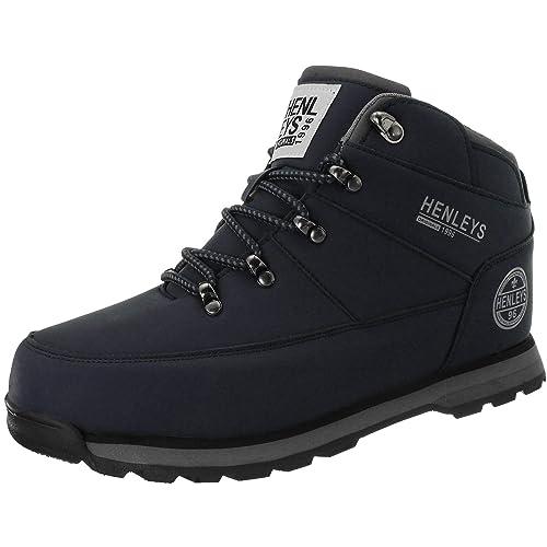 free shipping half off wholesale dealer Amazon.com | Henleys Men's ' Oakland Hiker Boots US12 Blue ...