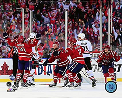 5f4c255de Amazon.com  Troy Brouwer Washington Capitals 2015 NHL Winter Classic ...