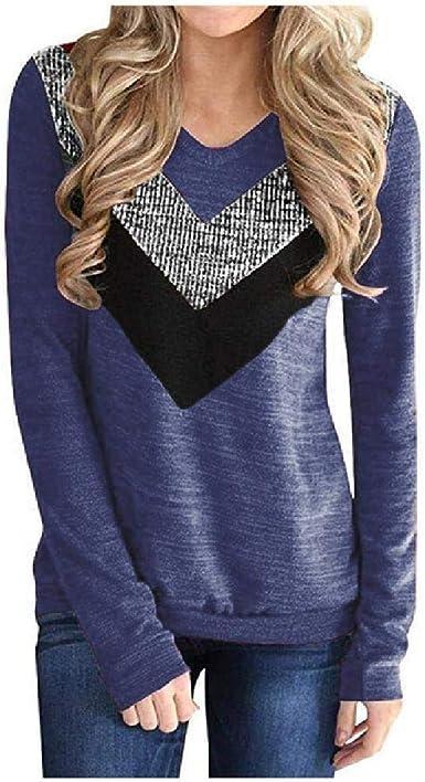U/A T Shirt Empalme Camiseta Casual Primavera Invierno ...