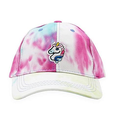 Gorra de béisbol Unisex con diseño de Unicornio Bordado, Lavada y ...