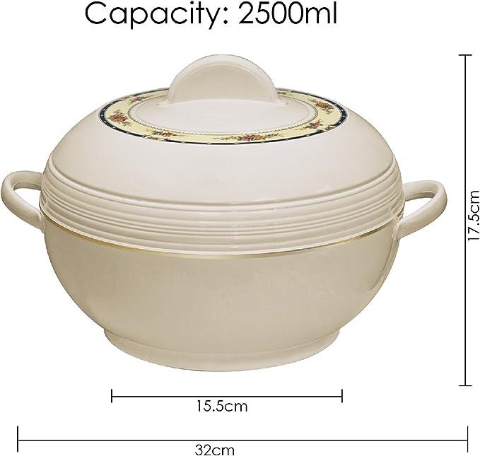 Fiesta Casserole isotherme pot Froid Chaud Aliments Serving Dish Qualité grand lot de 3