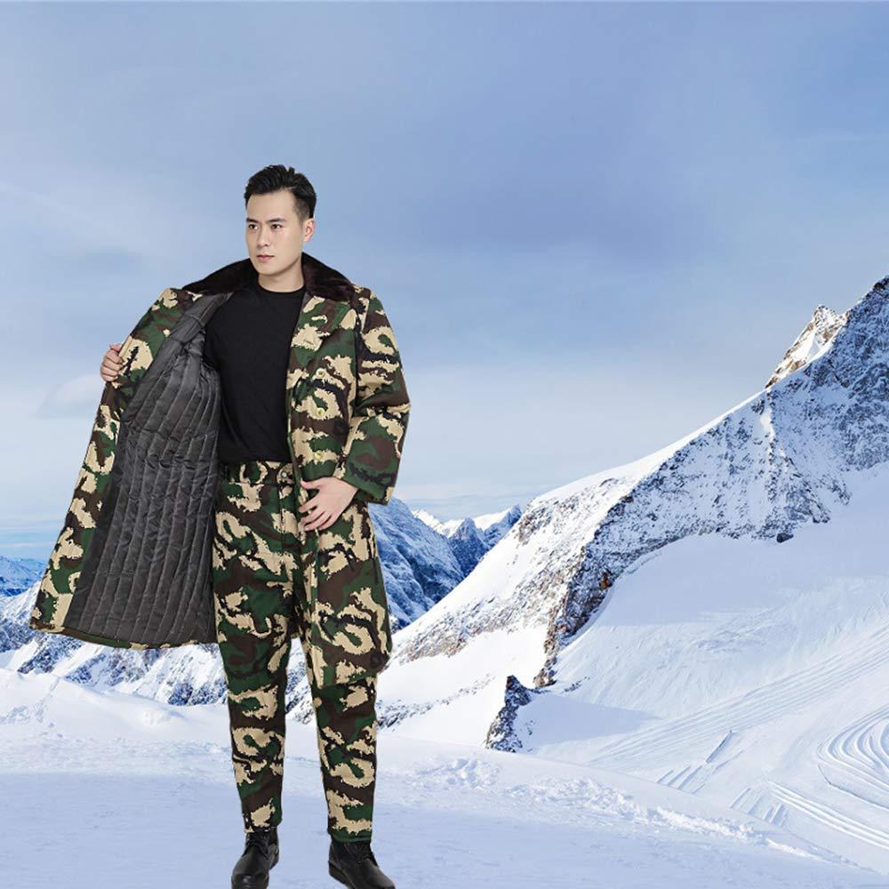 XFentech Men Camouflage Jacket//Trousers Cotton Coat//Pants