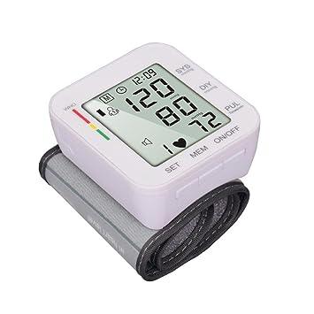 Umiwe Monitor de presión Arterial, Monitor de Manguito de presión Arterial Completamente automático de muñeca