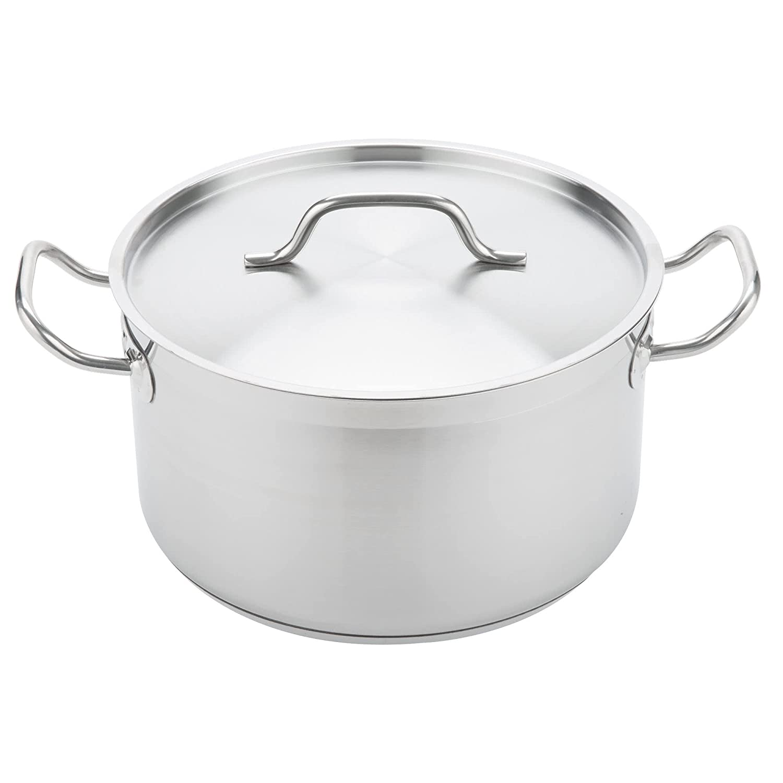 Vigor 10 Qt。ステンレススチールaluminum-clad Sauce Pot withカバー   B07BS5XWVW