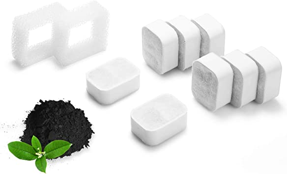 Amazon.com: iPettie Tritone Fuente de cerámica para mascotas ...