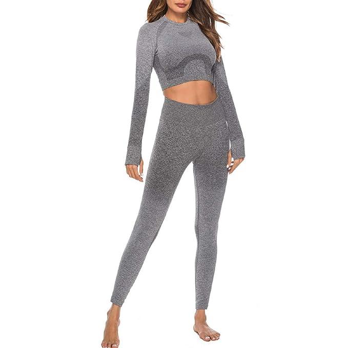 Amazon.com: Conjunto de 2 piezas para mujer, pantalones ...