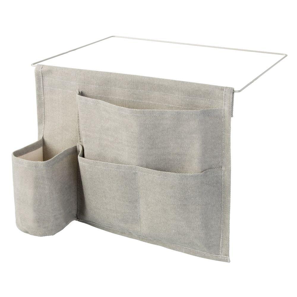 Amazon.com: InterDesign Wren Bedside Caddy Storage Organizer for ...