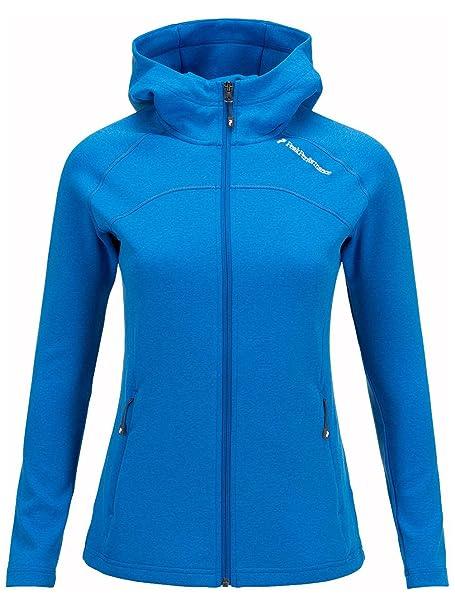 PEAK PERFORMANCE Mujer Outdoor chaqueta Kate Zip Hood para ...