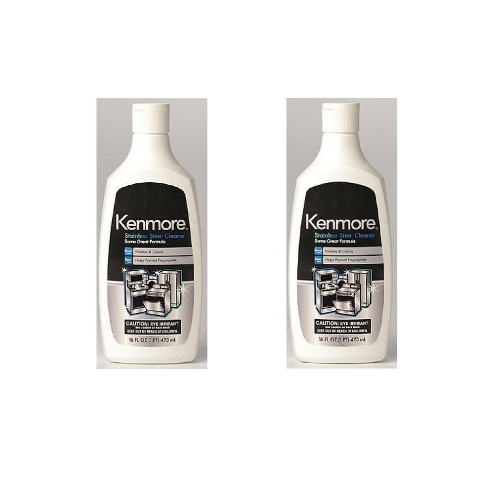 Kenmore 40083 Stainless Steel Cleaner (Pack of 2)