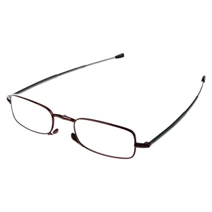 babe8c7207 SODIAL(R) 250 Degree Red Sodialr Portable 1 Pairs Of Compact Folding  Reading Glasses
