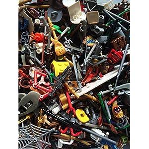 Authentic Lego Minifigure Parts Weapons Accessories (15 Lego Parts) - 61Q9sjsSg4L - Authentic Lego Minifigure Parts Weapons Accessories (15 Lego Parts)