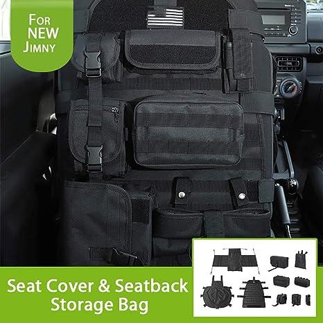 Btsdlxx Sitzbezugetasche Mit Organizer Storage Multi Pocket Passt Für Suzuki Jimny 2019 2020 Seat Protector Multiple Pockets Küche Haushalt