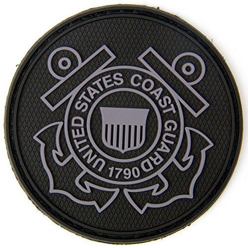 Coast Guard Patch by 3V Gear (Black/Grey)