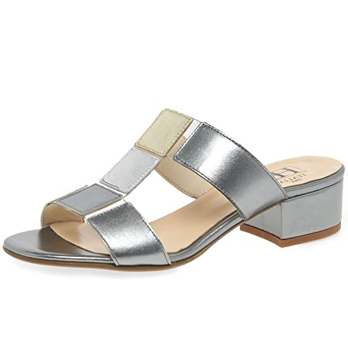 1b8b7a8049e04 H&B HB Block Womens Dress Mules: Amazon.co.uk: Shoes & Bags