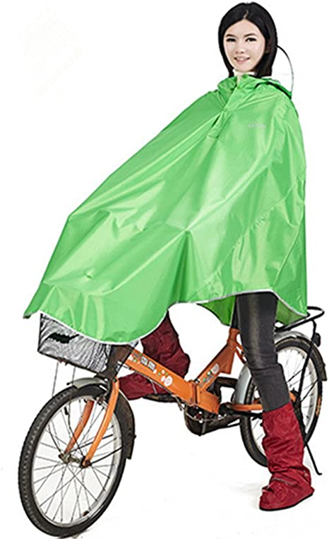 Bike bicicleta lluvia Chaquetas Lluvia Poncho, Oro Being ...